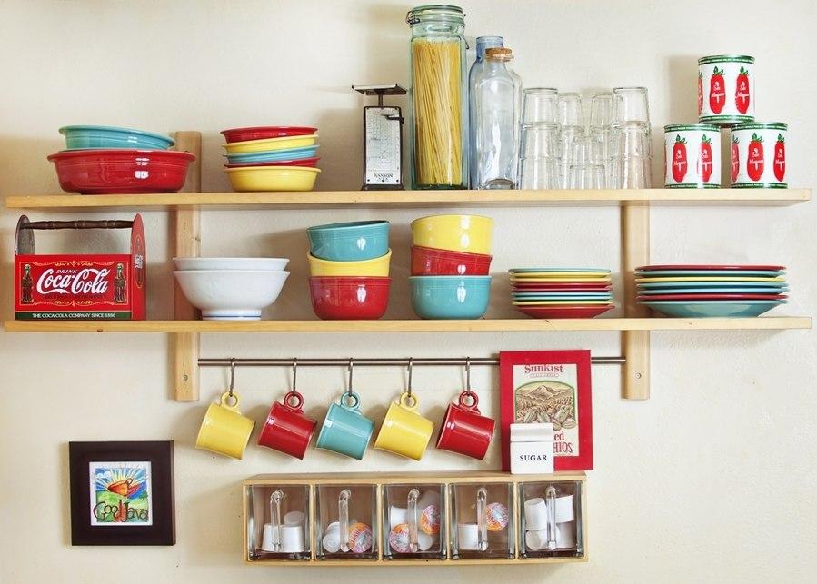 Как сделать полочки своими руками на кухню