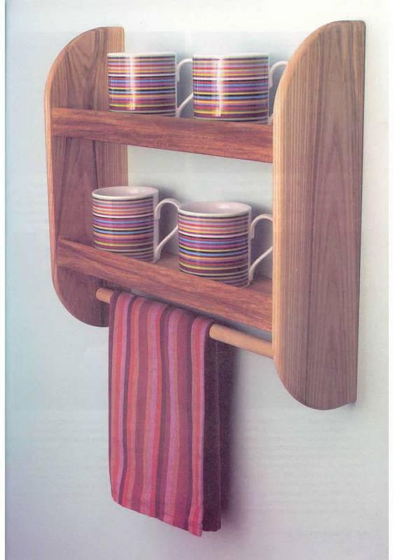 Как сделать навесные полки для кухни своими руками